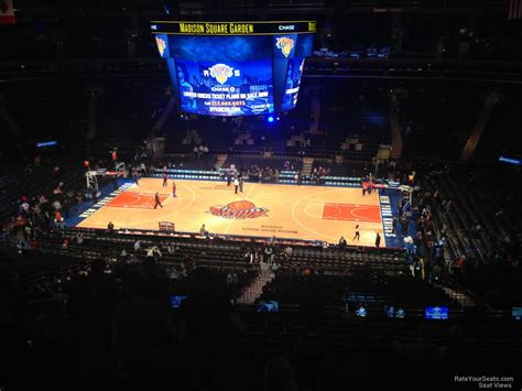 Nys Section 2 Basketball by New York Knicks Square Garden Section 212