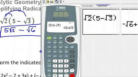 calculator radical simplify expressions fractions calculator how to