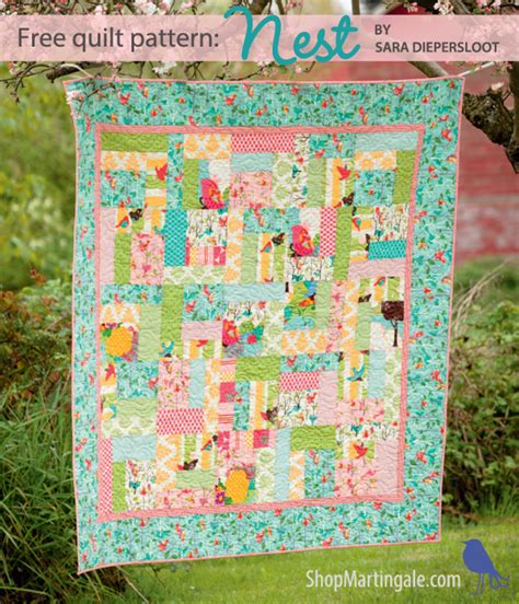 Quilting Blogs With Free Patterns by Free Quilt Pattern A For Beginners And For That Fabric Stitch This The