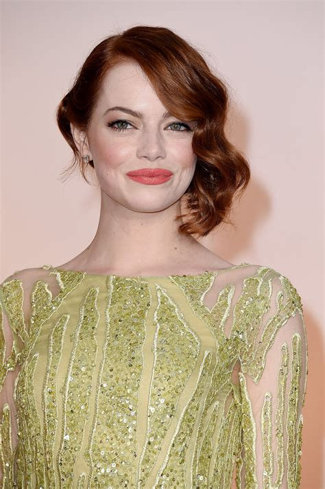 Emma Stone Hairstyle 2015 Celebrity Hairstyles 2015 | oscar 2015 celebrity hairstyles hairstyles 2017 hair