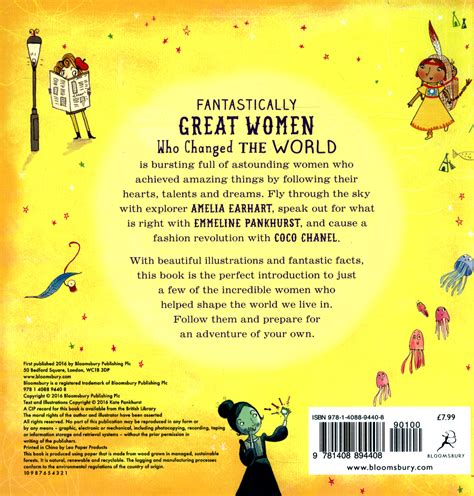 fantastically great women who 1408894408 fantastically great women who changed the world by pankhurst kate 9781408894408 brownsbfs