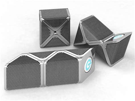 designer speakers snakes concept portable speaker system gadgetsin