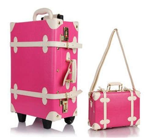 Tl 156 Pink Sale free shipping 24 12 quot sales vintage luggage hs