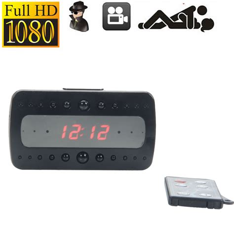 Spycam Jam Digital Hd Remote Motion Detection hd 1080p alarm clock motion detection digital dvr remote ebay