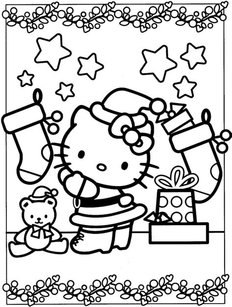 coloring pages hello kitty coloring pages 01 08 coloring