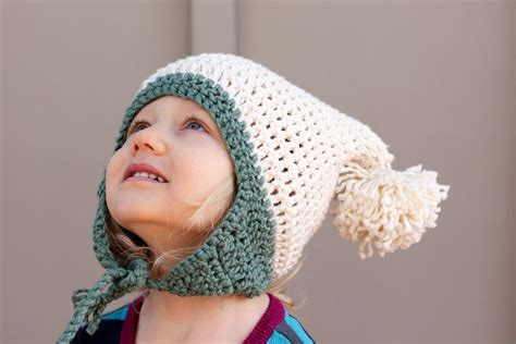 pattern crochet hat free free beginner crochet beanie hat pattern quot pom pom party quot
