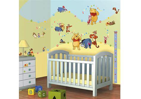 babyzimmer gestalten disney wandtattoo disney winnie the pooh walltastic wandsticker