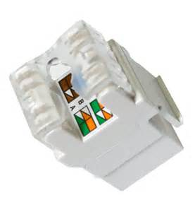 category 5e rj45 keystone connector white by legrand