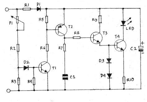 Lu Indikator Alarm fungsi kapasitor rangkaian elektronika 28 images