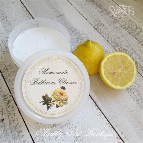 homemade bathroom cleaner recipes grandma s homemade cleaners shabby art boutique
