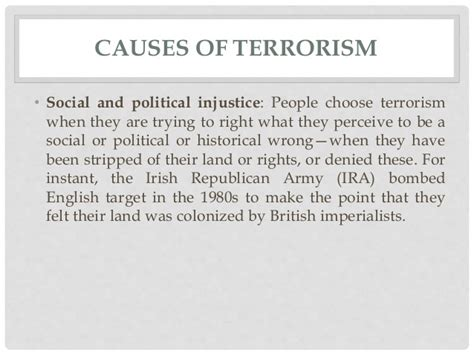 Solutions Terrorism Essay by Essay On Causes Of Terrorism Dissertationsynonym X Fc2