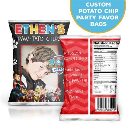 Custom One Of A Bags Chip by 21 Best Chip Bags Birthday Chip Bags Custom Potato