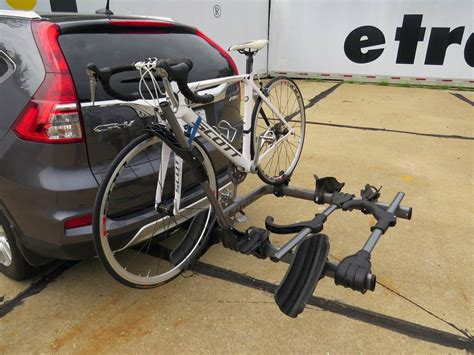 Bike Rack Honda Crv by 2016 Honda Cr V Kuat Transfer 3 Bike Platform Rack 1 1 4 Quot And 2 Quot Hitches Wheel Mount Tilting