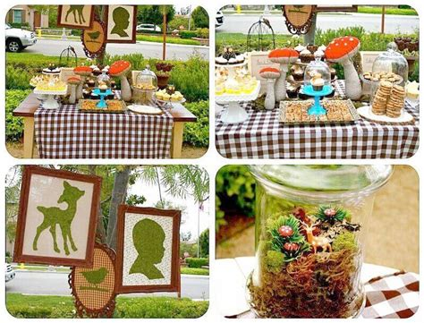 Woodland Animals Baby Shower Decorations by Woodland Themed Baby Shower Decorations Baby Shower Ideas