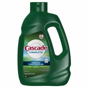 Cascade Dishwasher Cleaner Cascade Complete Gel Dishwasher Detergent 125 Oz Bj S