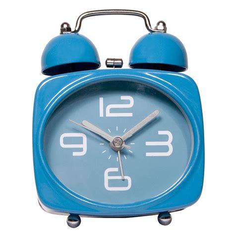 silent alarm clock blue iwoot