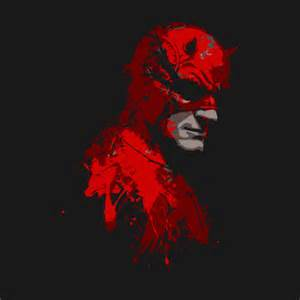 Curtain Style daredevil the blind devil t shirt