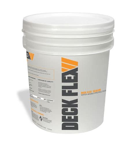 deck flex  purpose protective penetrating clear sealer