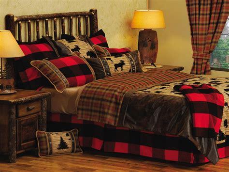 lodge style bedding cabin style bedroom rustic log cabin decor rustic cabin
