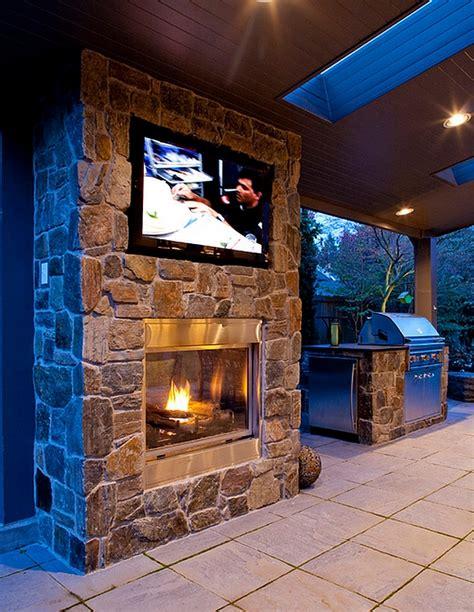 2 Story Home Design Names tv above fireplace design ideas