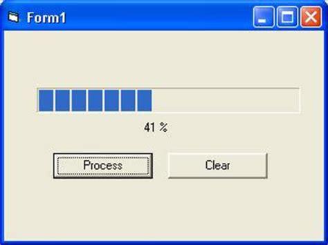 vb net tutorial progress bar visual basic 2008 2012 create loading process by visual basic 6 i am learning
