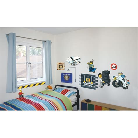 lego city wall stickers official new 25 pieces room