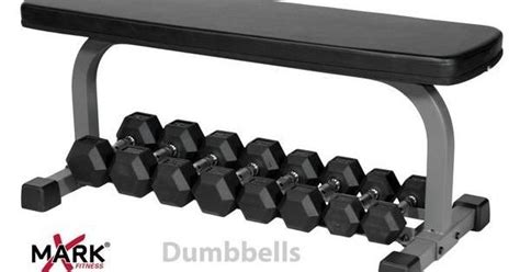 This Flat Bench With Built In Dumbbell Storage Underneath