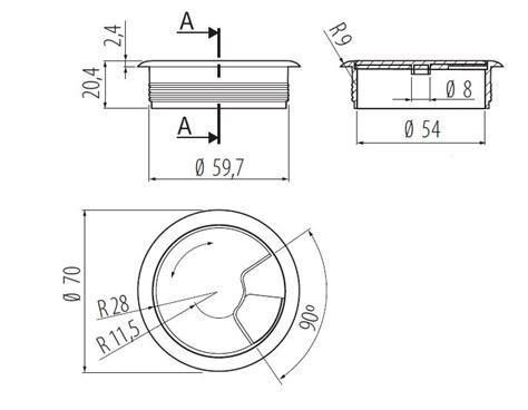 copri scrivania copricavi da scrivania per pc copri buco ordinare cavi