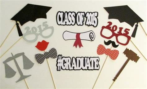themes for a college farewell party graduation photo booth props law school graduation party