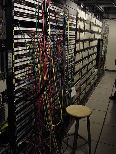 Patch Panel Rack by Patch Panel Definition From Pc Magazine Encyclopedia