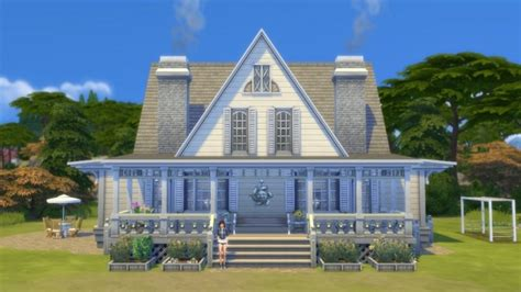 coastal cottage coastal cottage by pollycranopolis at mod the sims 187 sims