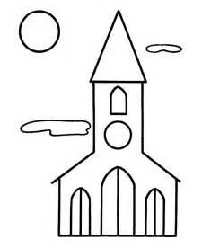 Bible Coloring Pages Building  Name Printable sketch template