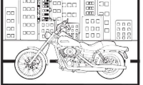 motorsiklet boyama cocuklar icin boyama sayfalari cicicee