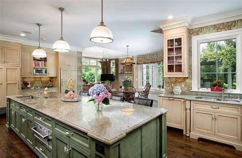 green kitchen islands 26 farmhouse kitchen ideas decor design pictures designing idea
