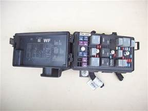 2006 2007 2008 pontiac grand prix fuse relay box 3 8l