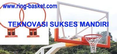 Acrylic Tebal 20mm jual ring basket tiang basket portabel dan papan pantul