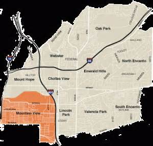 San Diego Gang Map by Gangs In San Diego Map