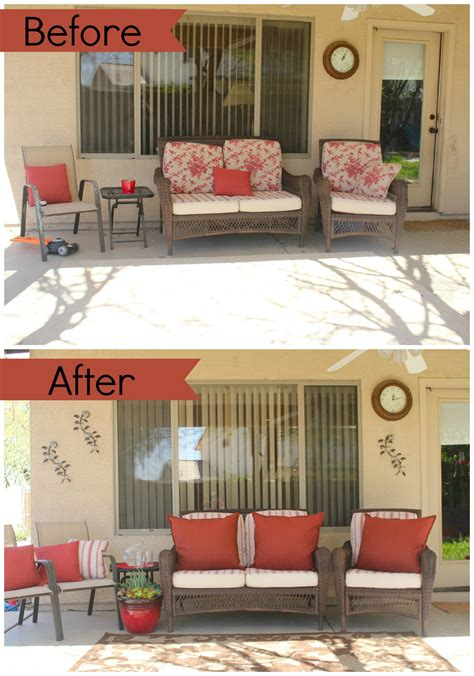 pictures decor bhg patio refresh challenge before after bhgchallenge