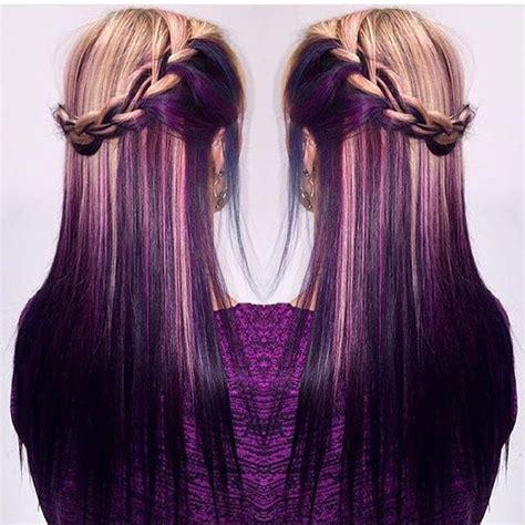 color underneath hair best 25 underneath hair colors ideas on dying