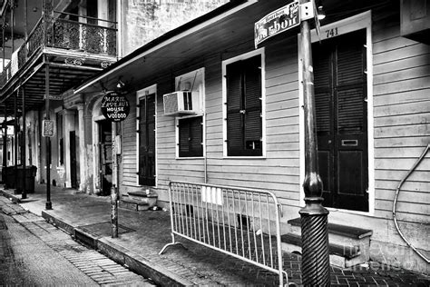 Laveau House by Laveau S House Of Voodoo Photograph By Rizzuto