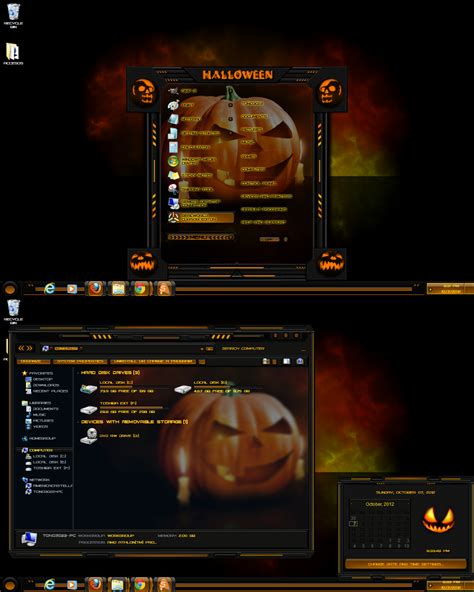 halloween themes for windows windows 7 theme halloween 2 by tono3022 on deviantart