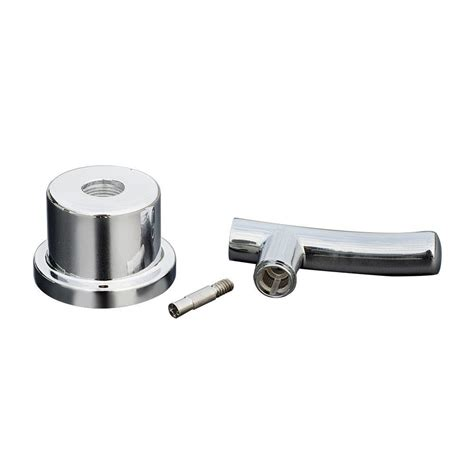 replacement bathtub faucet handles moen replacement lever handle insert in chrome 97462 the home depot