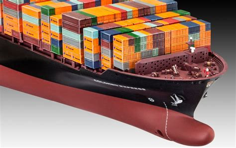 Bow Window Pictures revell container ship colombo express