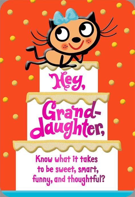 Mpliments For You Granddaughter  Ee  Birthday Ee   Card