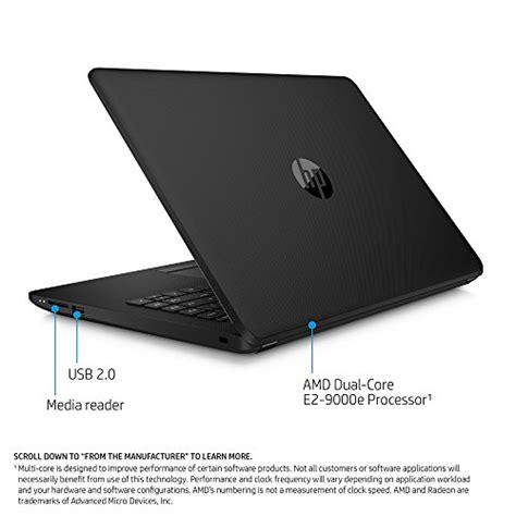 Hp14 Bw002au Laptop Amd E2 hp 14 inch laptop amd dual e2 9000e 4gb ram 500gb drive windows 10 14 bw010nr black