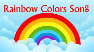 colors song nursery rhyme rainbow colors song