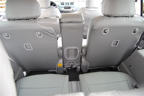 Toyota Highlander 2013 Seat Covers Toyota Highlander 2011 2013 Leather Like Seat Cover Ebay