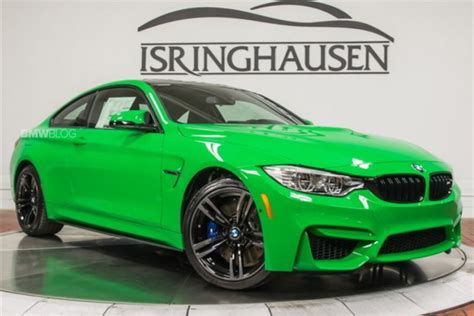 green bmw m4 this 2016 bmw m4 in signal green is a