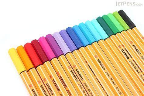 Stabilo Pen 88 0 4 stabilo point 88 mini fineliner marker pen 0 4 mm 18