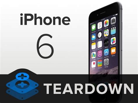 iphone  teardown ifixit